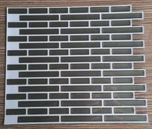 """Auto adhesivo del mosaico del azulejo 11 """" x 9.25 """" adhesivos de pared de vinilo azulejos, clásico chic, 100 Pack"""