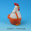 2015 new style ceramic chicken figurine for Halloween party decoration