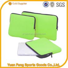 Shockproof Waterproof Wholesale neoprene laptop sleeve zipper laptop sleeve