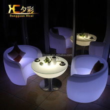 Chairs for CLUB LED Plastic Furniture plastic chairs for sale led furniture led table led chairs