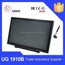 Alibaba gold supplier Ugee UG1910B 5080LPI usb 19 inch touch screen painting panel