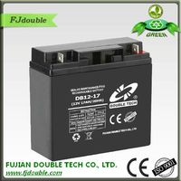 made in china lead acid agm vrla rechargeable battery 12v 17ah
