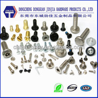 Dongguan fastener manufacturer offering all kinds of screws