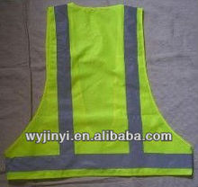 Quick dry reflective safety vest with velcro