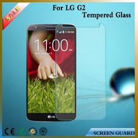 Competitive price for LG g2 tempered glass screen protector, tempered glass for lg g2 from China
