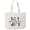 Custom blank fashionable cotton canvas tote bag