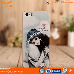 Alibaba supplier hard cover phone clear case for iphone6 plus