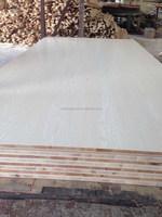 laminated board 2.5mm Red Cherry Board sided melamine plywood Malacca core E1 glue Block board