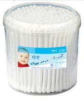 100 pcs Plastic Cotton Buds Baby Protection Cotton Swabs China Manufacturer Wholesale