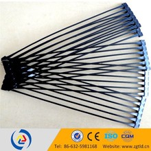 high tensile strength polypropylene biaxial geogrid maid in china