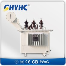 3 Phase S9-M-1000 33-0.42 AL compension winding, CU regulating winding 1000KVA oil immersed power transformer $10400/set