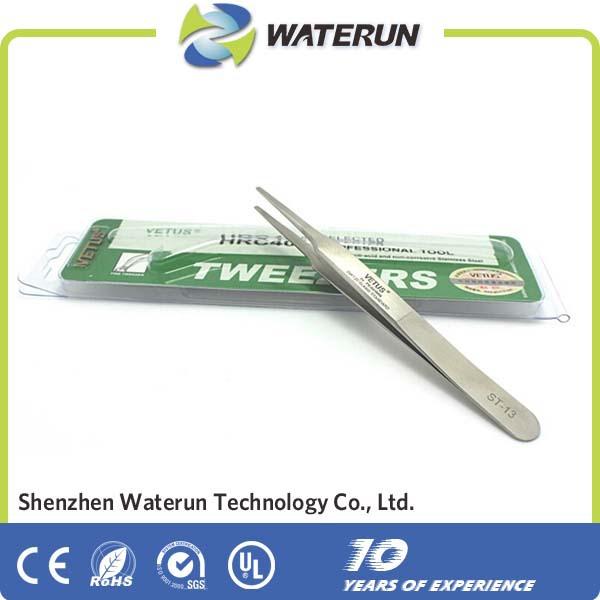 Vetus ST-13 electric pointed stainless steel vetus tweezers