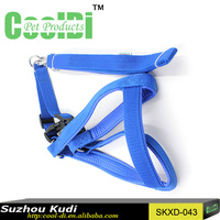 Fashionable nylon dog leash nylon dog collar and leash chain dog collar