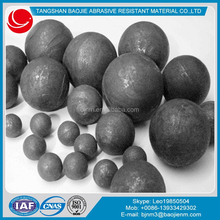 Hot Rolled 20mm, 40mm, 60mm Forged Steel Balls For Gold, Copper,Iron Mines Grining