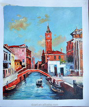 Oil painting stock for sale venice painting pictures to paint on canvas