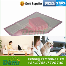 Adsorbent type non toxic eco-friendly pet cleaning product pet pee pads