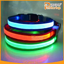 best selling products 2015 dog pet collar pets supplies safety led flashing dog collar for christmas