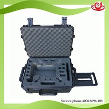 wheels and handle customized foam powerful shielded case for DJI
