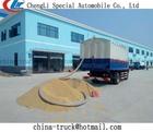 Grãos a granel e de sucção do caminhão de entrega, grãos a granel descarga de caminhão