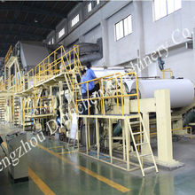 2014 New! Dingchen machinery raw material:straw pulp,recycled paper,wood,bamboo,bagasse Cultural paper making equipment