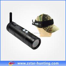 HD 1080P wifi version Sports Helmet Camera140 degree angle for Shotgun Rifle