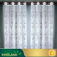 La cortina de colecciones proveedor decorativa cortina de bordado