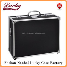 13 x 10.25 x 5.125 Inches Small Hard Photographic Equipment Case with Carrying Handle (Black)