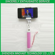2015 best sell wireless bluetooth selfie stick / extendable hand monopod selfie stick / bluetooth selfie stick