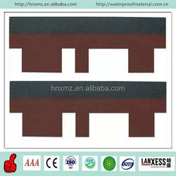 Cheap Bitumen Goethe Tiles Asphalt Red Roofing Shingles