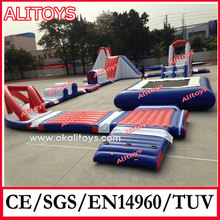 inflatable floating water game and aqua park