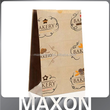 Fashion OEM kraft paper bag with window