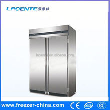 Stainless steel glass door deep freezer solar powered refrigerator fri.. for hotel kitchen use