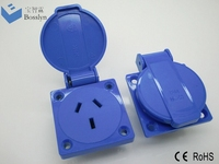 Top quality unique waterproof electromagnetic relay socket