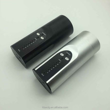 wholesale wax vaporizer pen black & silver Arizer solo glass,arizer solo vaporizer