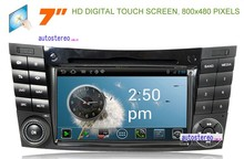 Android Car Stereo DVD Player With GPS Navigation System for CLK SLK Vaneo Viano Vito E-W210