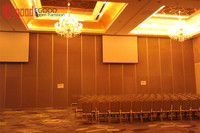 conference room wall panel for sound proof sliding partition