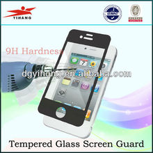 Anti-shatter film tempered glass screen guard for iphone 5