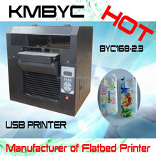 HOT! BYC Flatbed digtal Phone case printing machine with good sales
