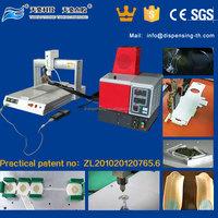desktop hot melt gluing machine TH-2004D-300ML