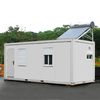 expandable Container House with solar power/solar heater