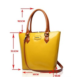 Wholesale and promotional hot sell popular ladies handbag