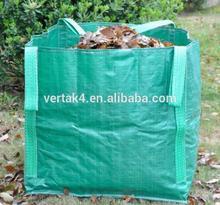 Garden tools leader perfect quality 4 handles water-proof pop up garden waste bag
