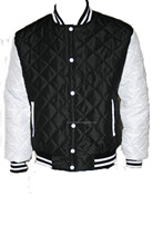 Custom Varsity Jackets with Wool Body and Leather Sleeves, Custom Chenille Patches & Embroidery Artwork