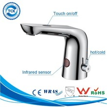TK-201LT21B UPC Brass automatic faucet with temperature control for commercial bathroom