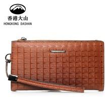 HK DA SHAN wholesale top quality genuine leather purses and handbags