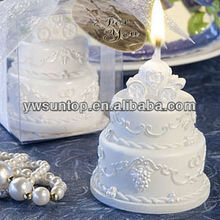 high top wedding cake candle favors stocks