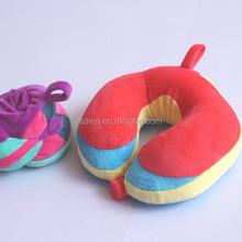 USA cute fashin design memory foam folding kids travel pillow
