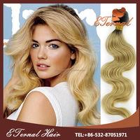 Brazilian body wave 24 inch human braiding hair 1bT613 color two tone hair extension
