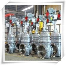DIN Rising Stem Flat Cast Steel Gate Valve