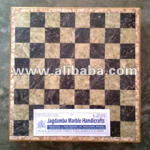 Esteatita tallado juego de ajedrez